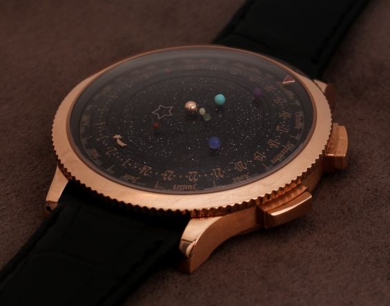 Grail: Van Cleef & Arpels Midnight Planetarium. Image from www.ablogtowatch.com